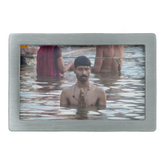 Ganges River 2 Belt Buckle