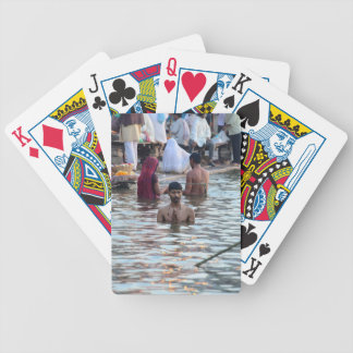 Ganges River 2 Bicycle Playing Cards