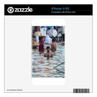 Ganges River 2 iPhone 4 Decal
