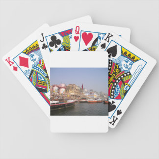 Ganges River Bicycle Playing Cards
