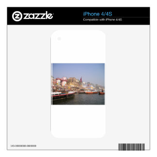 Ganges River Decal For The iPhone 4