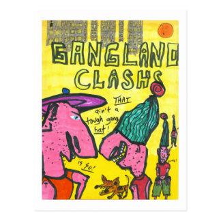 Gangland Clash Postcard