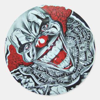 Gangsta Classic Round Sticker