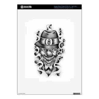 Gangsta Clown Decal For iPad 3