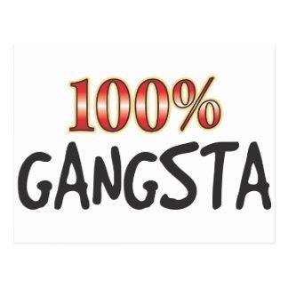 Gangsta el 100 por ciento postal