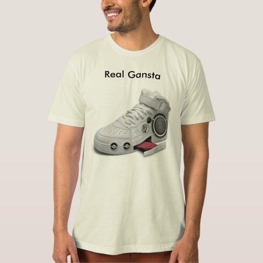 gangsta_gadget, Real Gansta T-Shirt