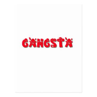 Gangsta Gangsta Tarjeta Postal