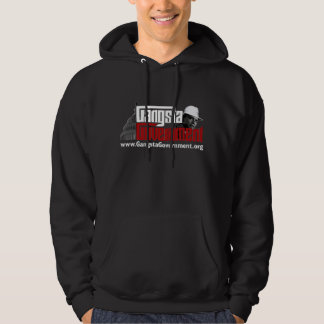 Gangsta Government Hoddie Hooded Sweatshirts