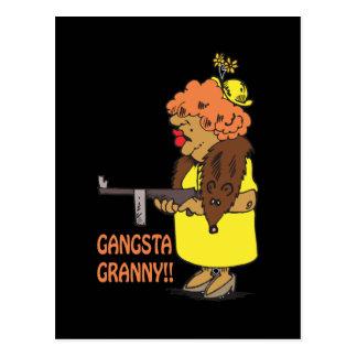 Gangsta Granny Postcard