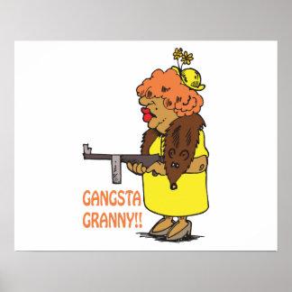 Gangsta Granny Print