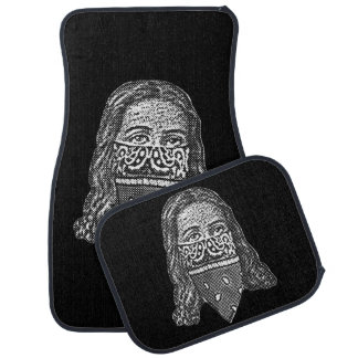Gangsta Jesus Car Mat
