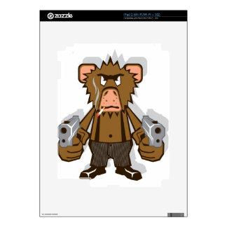 Gangsta Monkey iPad 2 Skin