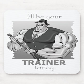 Gangsta' Personal Trainer Mousepad