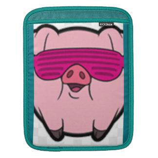 Gangsta piggy iPad sleeve