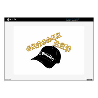 Gangsta Rap Laptop Decal