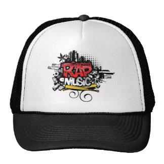 GANGSTA RAP MUSIC - gorro Cap gorro Basecap Caps