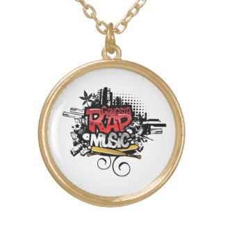 Gangsta Rap Music Necklace
