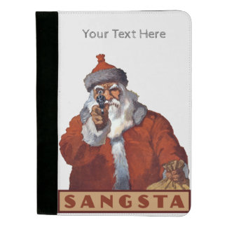 Gangsta Santa custom padfolios Padfolio