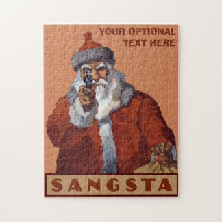 Gangsta Santa custom puzzle