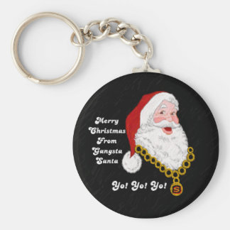 Gangsta Santa Key Chain