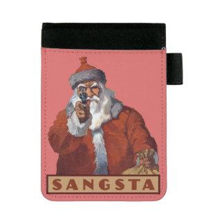Gangsta Santa padfolios Mini Padfolio