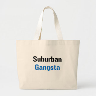 Gangsta suburbano bolsa tela grande