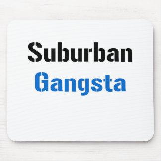 Gangsta suburbano alfombrillas de ratones