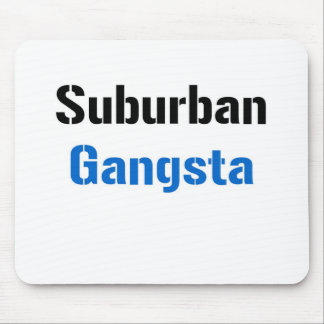 Gangsta suburbano tapetes de raton