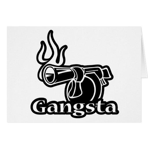 Gangsta Tarjeta De Felicitación