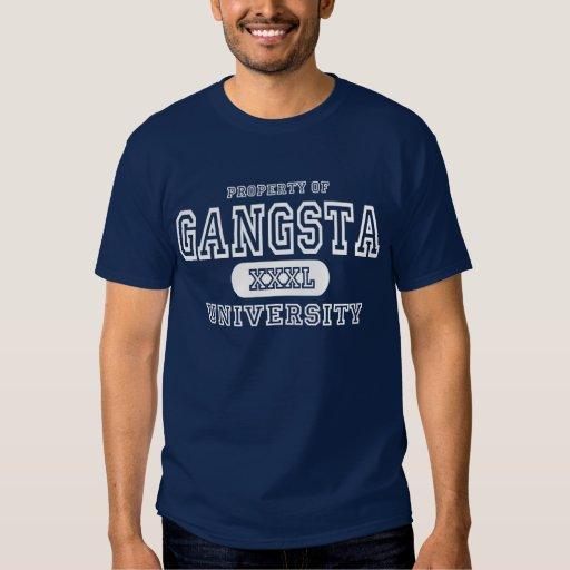 Gangsta University Dark Tee Shirts