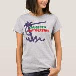 Gangsta w-rap play on wrapper rapper funny tshirt