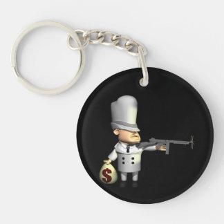 Gangster 2 keychain