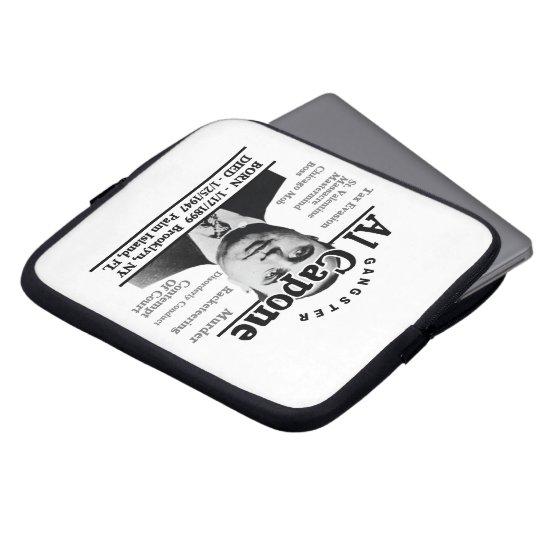 Gangster Al Capone Laptop Sleeve