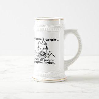 Gángster bonito mismo tazas