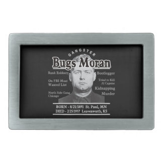 Gangster Bugs Moran Belt Buckle