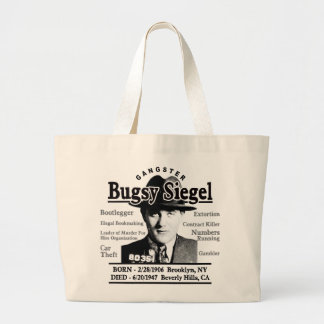 Gangster Bugsy Siegel Tote Bags