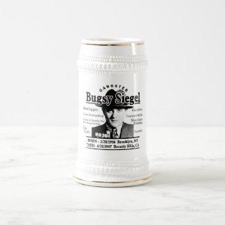 Gangster Bugsy Siegel Beer Stein