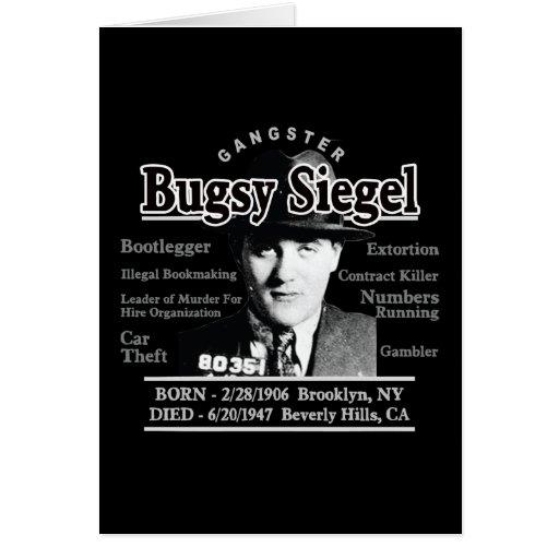 Gángster Bugsy Siegel Felicitacion