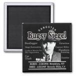 Gangster Bugsy Siegel Fridge Magnet