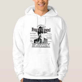 Gangster Bugsy Siegel Hooded Pullover