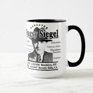 Gangster Bugsy Siegel Mug