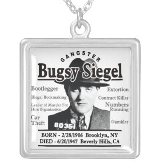 Gangster Bugsy Siegel Necklaces