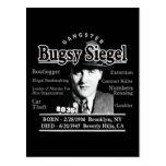 Gángster Bugsy Siegel Postal