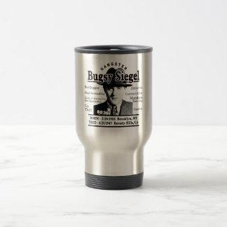 Gangster Bugsy Siegel Travel Mug
