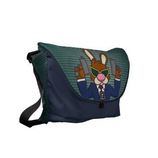 Gangster Bunny Messenger Bag