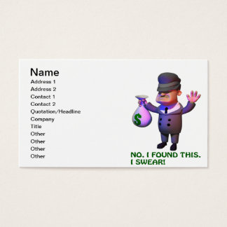 Gangster Business Card