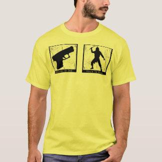 Gangster by Day, Ninja by Night T-shirt