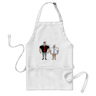 Gangster cartoon adult apron