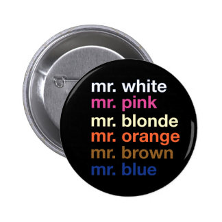 Gangster Colors Pinback Button
