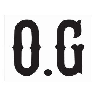 Gángster de la original de O.G Postal